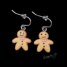 Náušnice vánoční perníčky Gingerman