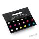 Sada - náušnice barevné kuličky - 9 párů - II. jakost