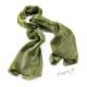 Šál k šatům metalický - kovově zelený
