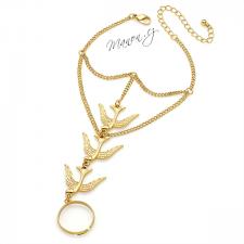 Náramek s prstenem s vlaštovkami - zlatá barva