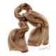 Šál k šatům metalický - bronzově zlatavá barva