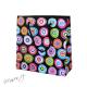 Dárková taška papírová - barevná kola