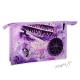 Kosmetická taštička cestovatelská - fialová - Řím, New York