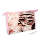 Kosmetická taštička cestovatelská - růžová- Řím, Paříž