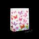 Dárková taška papírová - motýli