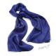 Šál k šatům metalický - kovově modrý