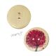 Dřevěný knoflík dekorační - barevný strom červený