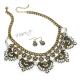 Luxusní retro náhrdelník s třpytivými kamínky