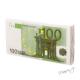 Servírovací ubrousky bankovka 100 eur