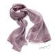 Šál k šatům metalický - světle fialový