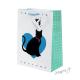 Dárková taška s kočkami a srdíčky - střední