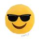 Polštářek smajlík s brýlemi