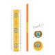 Sada školních potřeb Egypt - tužka oranž, pravítko, guma, ořezávátko