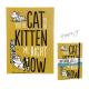 Záznamník - deník Simon's Cat A5 žlutý (barva hořčice)