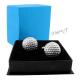 Manžetové knoflíčky golfové míčky z anglického cínu + krabička zdarma