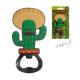 Otvírák na láhve Mexický kaktus s kloboukem